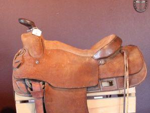Maker JD Carter Custom Western Saddle 14 5″ | Saddle Up! Tack